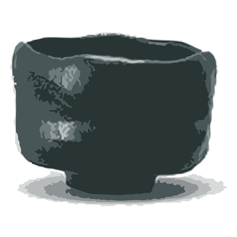 黒茶碗 九代 楽 了入 1,100,000円で買取り成立!